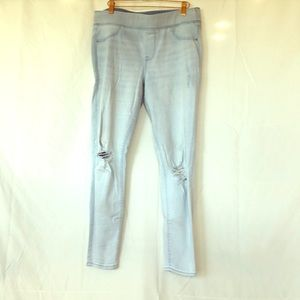 Pull on skinny jeans
